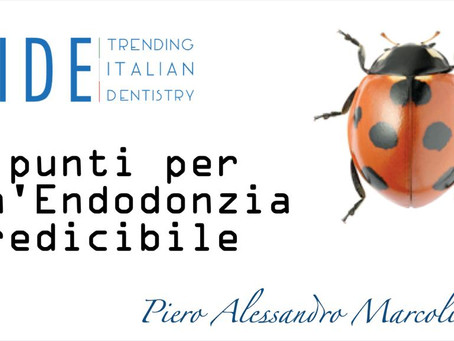 7 punti per un'Endodonzia predicibile