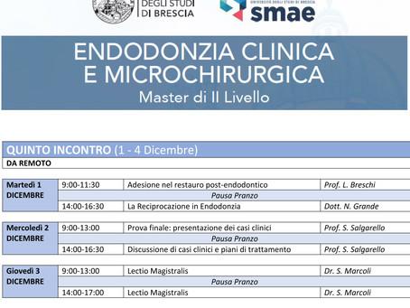 Master II livello Università degli Studi di Brescia