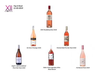 South African Top 6 Rosé results now available!