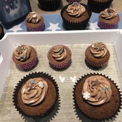 Schoggi cupcake