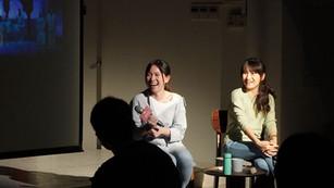 白斐嵐╳張芯慈「從臺灣到南韓:音樂劇趨勢發展分享」 《後台學》十一月場