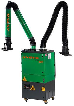 MSU350 welding fume extractor