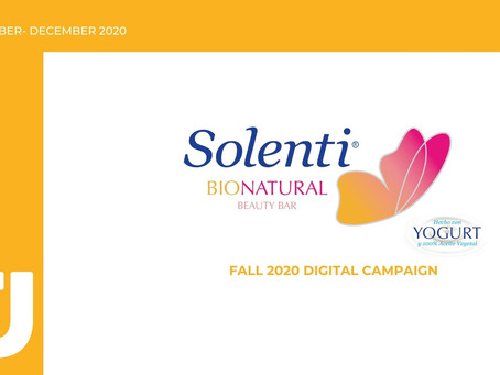 SOLENTI BIONATURAL FALL 2020 DIGITAL CAMPAIGN RECAP (ESP.)