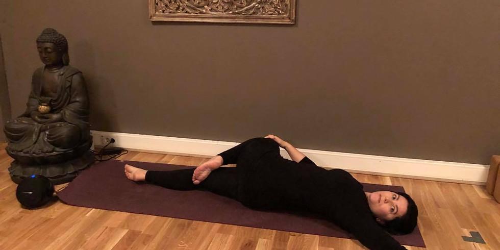 Rolig gjenoppbyggende Yoga med Yoga Nidra - Dybdeavspenning