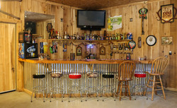 Custom Bar & Recreational Room