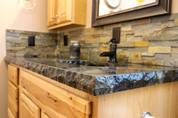 Custom Poured Counter Tops