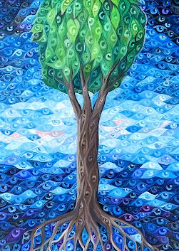 9. Tree of eyes