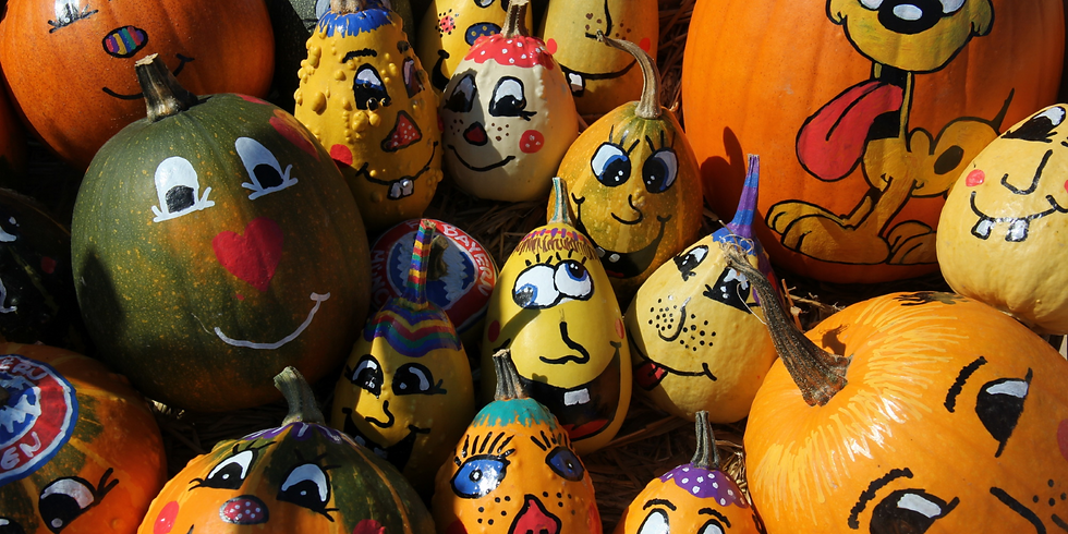 Pumpkin Painting October 28th 2 pm