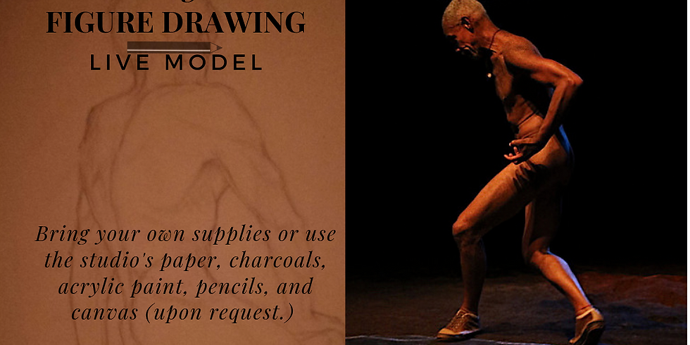 Figure Drawing with live model
