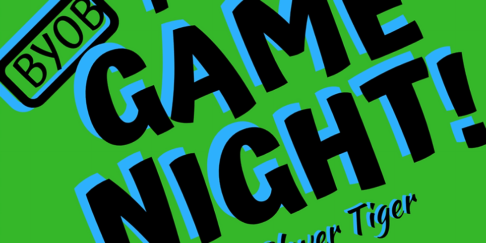 Game Night:  BYOB Cards Against Humanity