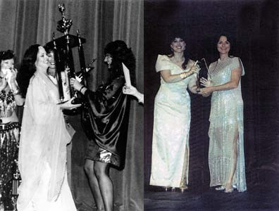 Winning 1988 Belly Dancer of the Year and the IAMED 1999, Best Instructor Award,