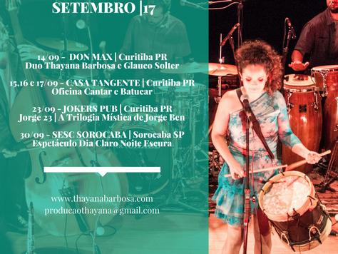 Hoje tem Duo Glauco Solter e Thayana Barbosa no Don Max às 19h | Curitiba PR