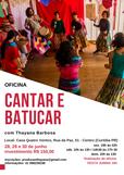 Oficina Cantar e Batucar em Curitiba