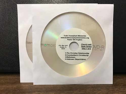 Church & State Series DVDs