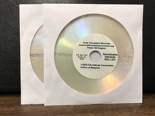 Danny Vierra and Bill Hughes Interviews DVDs