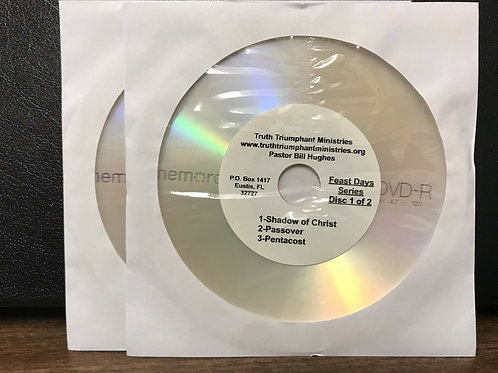 The Feast Days Series DVDs