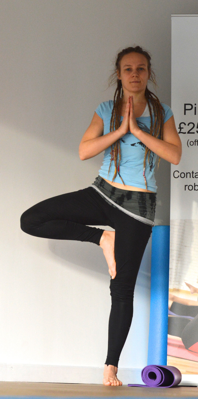 3 Yoga poses for festive fatigue (aka overindulgence, you know the one!)
