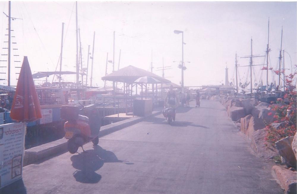 Eilat marina ... 1998!