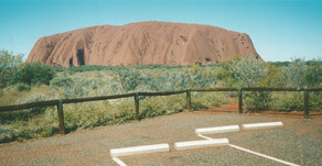 Climbing Uluru ... or not!