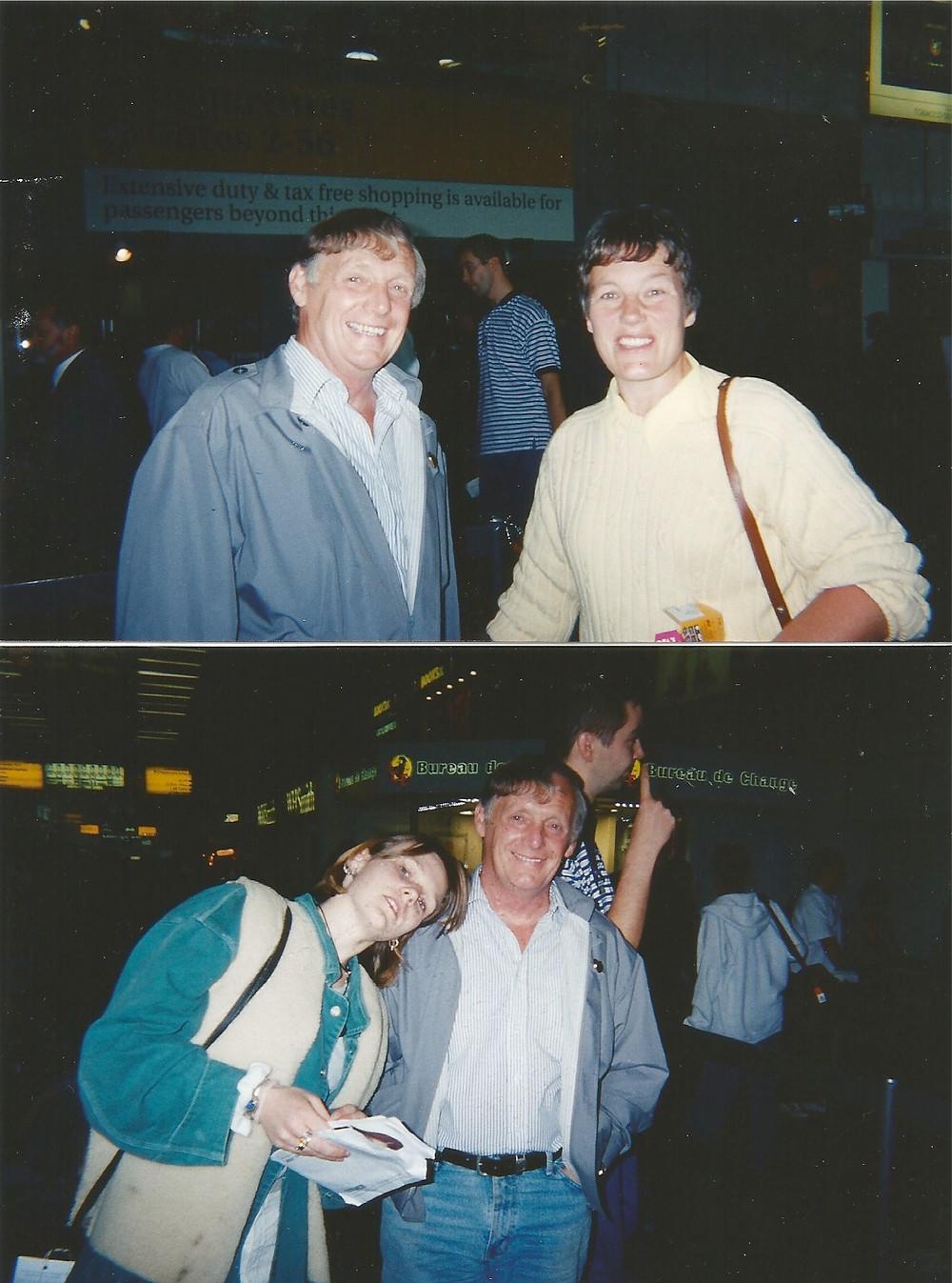Haha! Look at us :-D October 1998