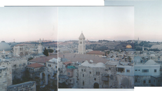 West is best; waking up in Jerusalem and falling in love