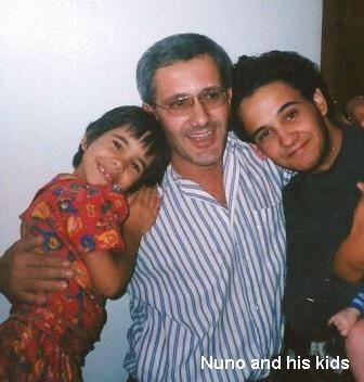 Nuno and his kids!