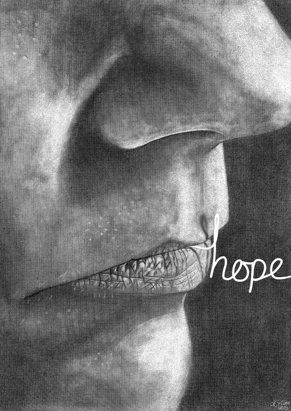 Don't lose hope friends! This too will pass .... Image by yours truly!