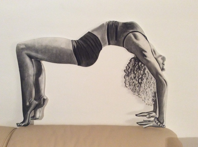 Here we go ... The future of the Yogini-Artist!