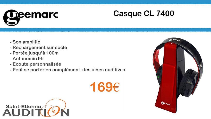 Geemarc CL 7400 Saint Etienne Audition