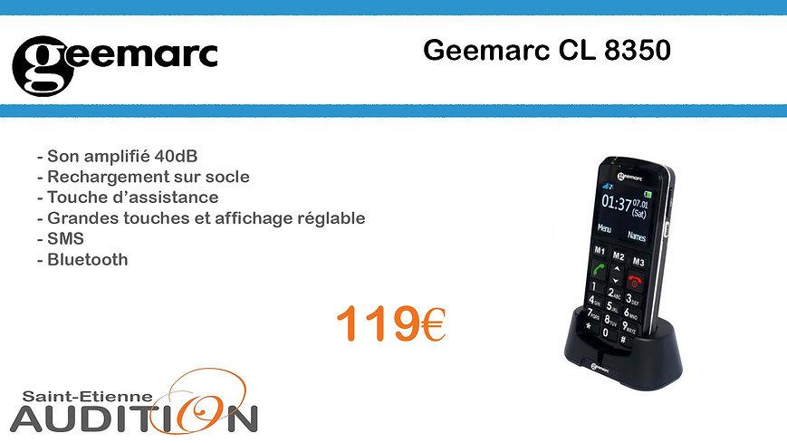 Geemarc CL 8350 Saint Etienne Audition