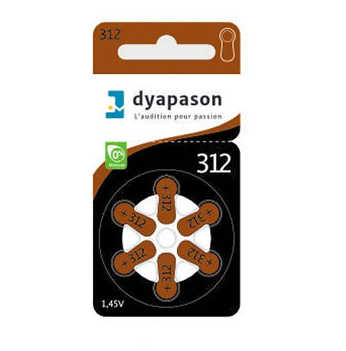 Piles 312 Dyapason