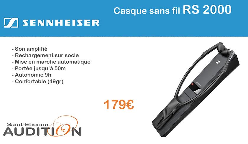 Sennheiser RS2000 Saint Etienne Audition