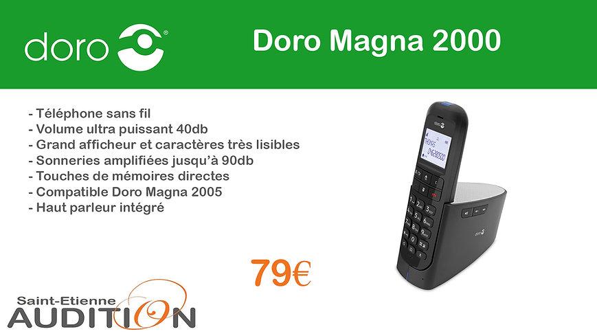 Doro Magna 2000 Saint Etienne Audition