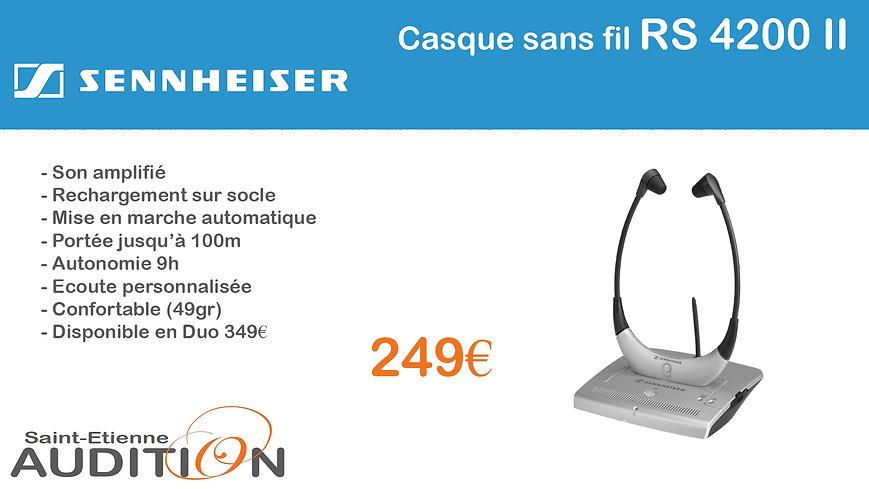 Sennheiser RS 4200 II Saint Etienne Audition