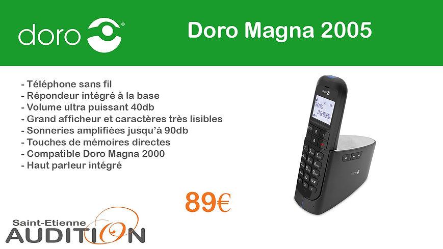 Doro Magna 2005 Saint Etienne Audition