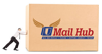 Mail heavy or big packages in Miami, Mailbox rental in Miami