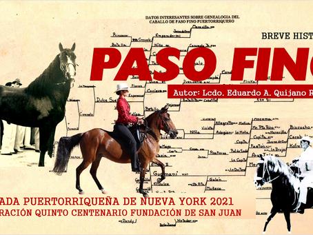 HISTORIA BREVE DEL PASO FINO