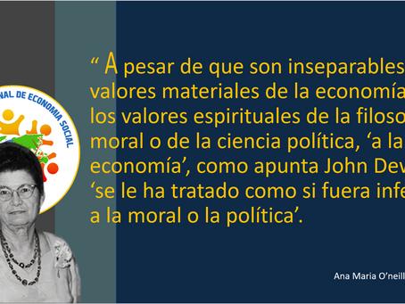PENSAMIENTOS DE DOÑA ANA MARIA O'NEILL