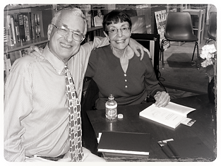Richard and Catherine at Lemuria Book Signing