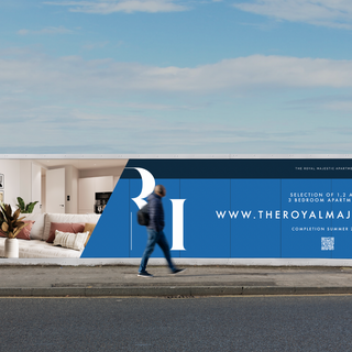 The Royal Majestic Apartments Hoarding by Ademchic