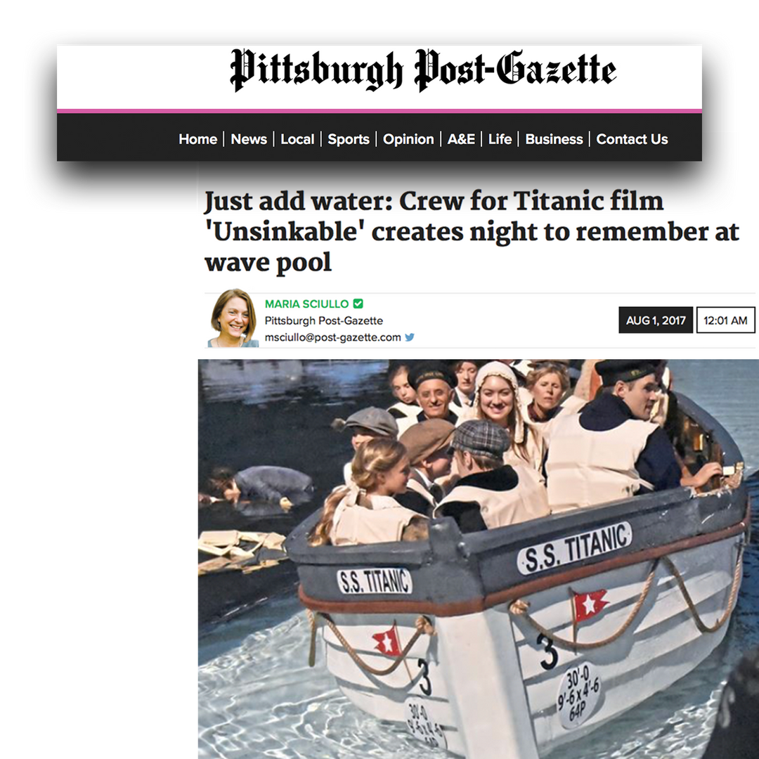 unsinkable post gazette news clip.png