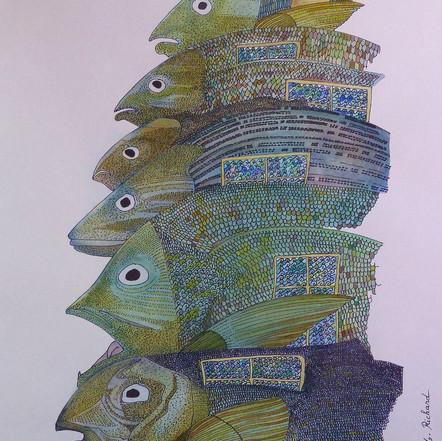 ''Fish House''(2017)