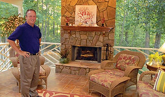 contractor,tim williams,tbj,fireplaces,screened porch
