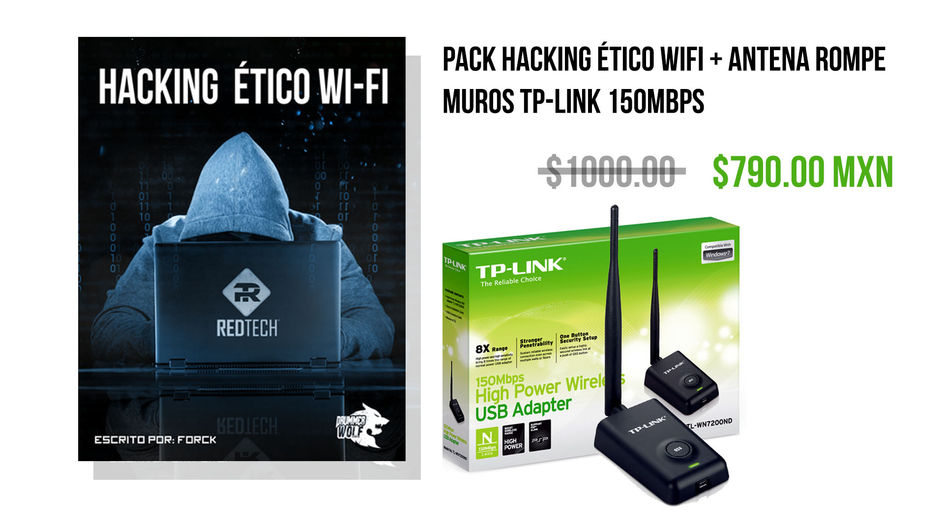 Pack de Hacking Etico
