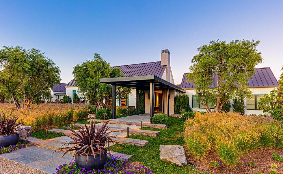 custom-home-sonoma-ca-entryway-landscapi