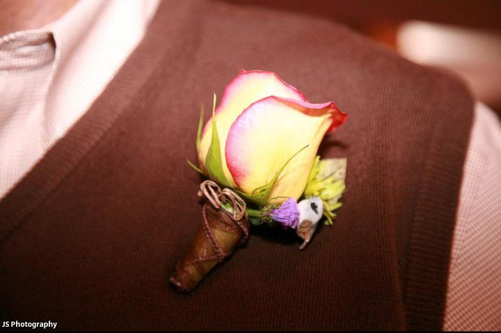 Soon-to-Be Daddy Boutonniere