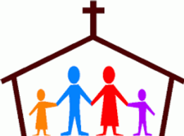 church with people