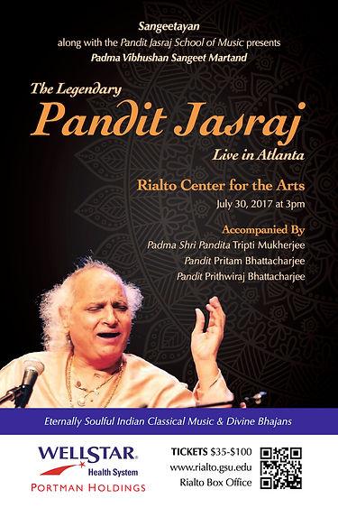 Pandit Jasraj Live in Atlanta, July 30 2017