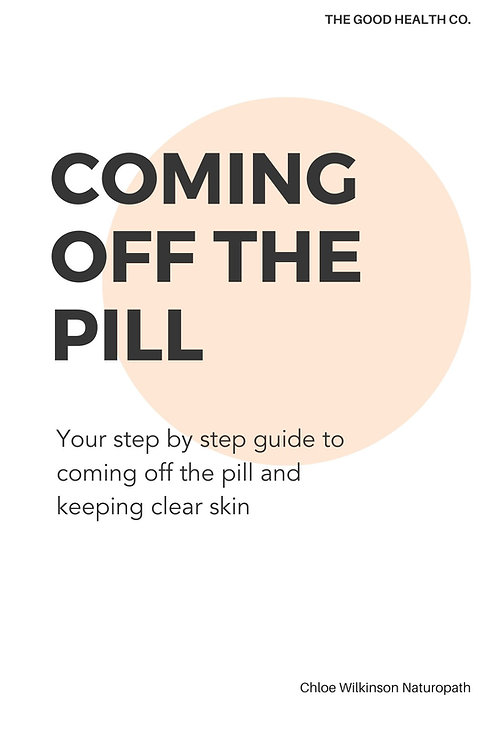 Coming Off The Pill