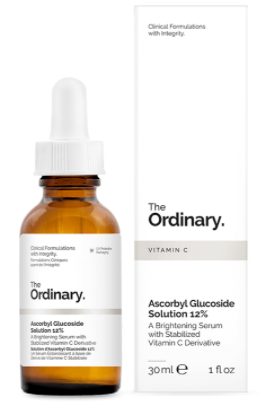 Rosacea Treatment - The Ordinary Ascorbyl Glucoside Solution 12%